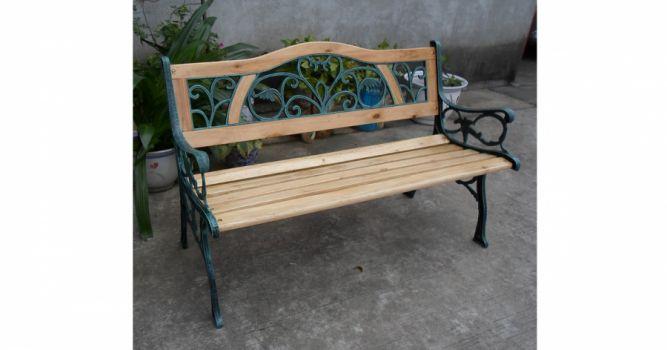 ბაღის სკამი ჭედური