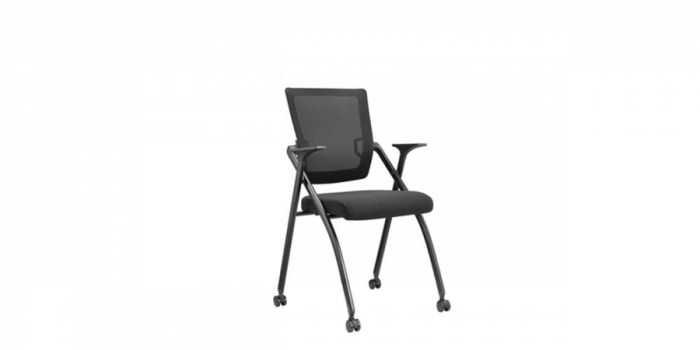 საოფისე სკამი გორგოლაჭზე, ბადის, დასაკეცი